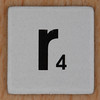 Word Game letter r
