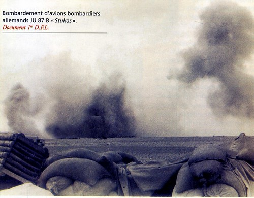 1942 Bir Hakeim -Bombardement d'avions bombardiers JU 87 Bstukas Dossier 2GM
