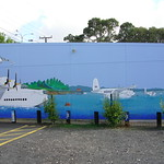 Mural on Harcourts Office at Beach Haven