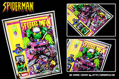 "3d Comic Cover Spiderman - Mysterios Madness photo by ""Orion Pax"""