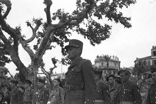 La 1re DFL (Division Française Libre) dans le massif de l'Authion.