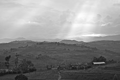 Light on rural Rwanda photo by Noel Molony