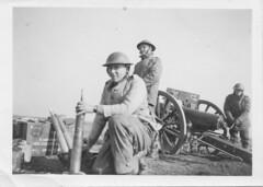 Angleterre - 1941 - 15 mars 41 Ecole a feu - Fonds Jean Mathieu Boris