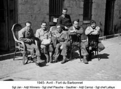 BM 4 Chambarand - 1945 Avril_Fort du Barbonnet - Fonds Emile Gauthier