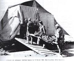 Santé- 1942- Hopital de campagne