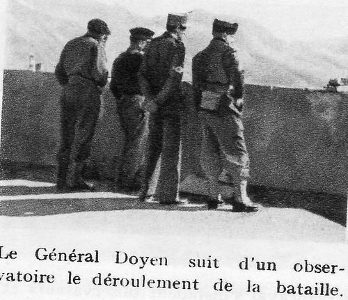 Authion 1945 printemps -  général Doyen observatoire
