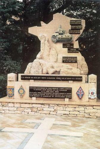 11 cuirassiers : monument vercors