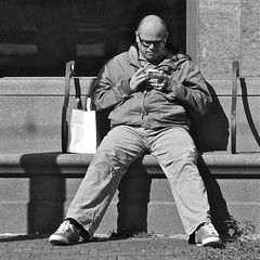 The use of smartphones is widespread photo by Akbar Simonse