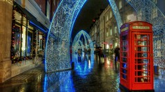 Christmas in South Molton Street,London. [Explored] photo by Lemmo2009 (Thanks for 1 Million views)