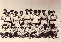 RFM- Libye 1942- Officiers du BFM- Fonds Fercocq