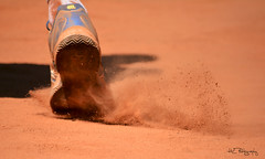 Tennis dust photo by HL--Photography