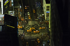 Taxis in Times Square, New York photo by basair