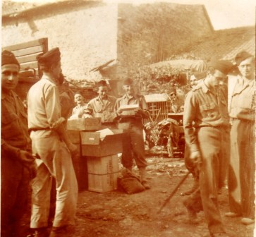 RA- 1944- Italie Groupe Chavanac - col Roumeguère
