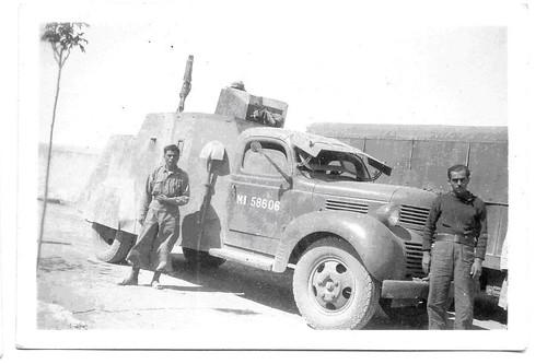 1941- Syrie -camion - Col. Paul Chanoine (Train)