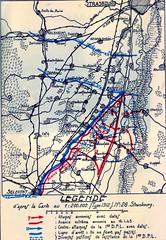 1945 - Alsace - ouvrage dfl en alsace 45