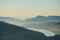 Peaceful morning at Vorlich photo by Bryan Harkin