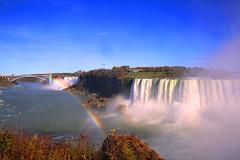 Rainbows, Niagara Falls and Rainbow Bridge photo by lfeng1014
