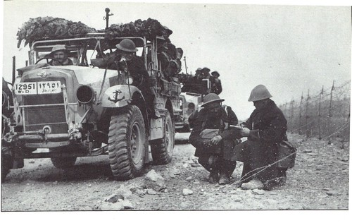 1ère Cie des Chars- 1941 - Syrie