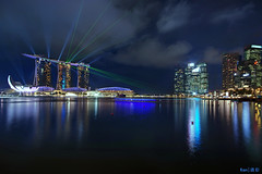 MBS Laser Show photo by Ken Goh thanks for 1,800,000+ views