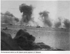 1942 Bir Hakeim - Bombardement aérien