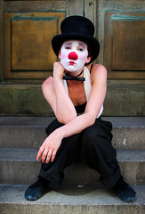 The Lost Clown photo by Charles S Hamilton