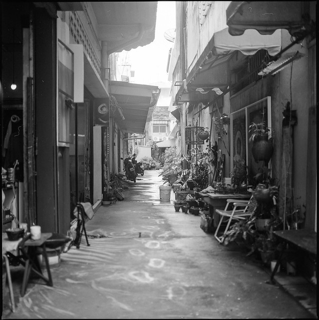 Phuket Town Back Alley