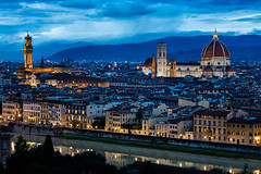 Firenze Twilight (Florence, Italy) photo by cmav