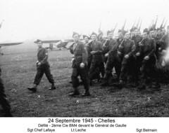1945 24Septembre Chelles BM4 2è Cie - Fonds E. Gauthier