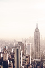 Empire State Building and New York City Skyline - Afternoon photo by Vivienne Gucwa