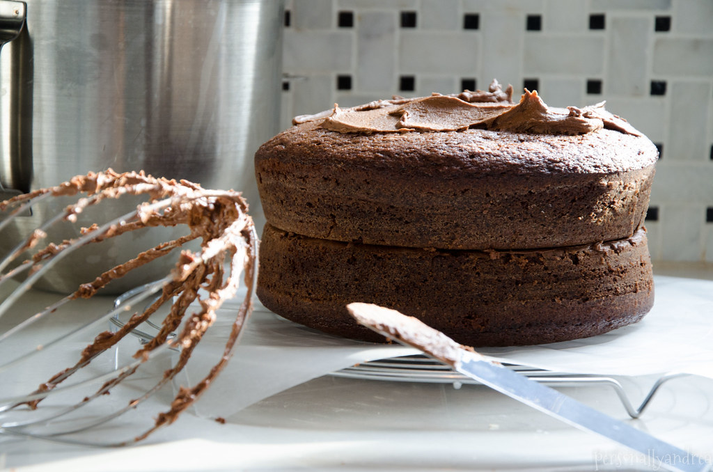 Perfect Chocolate Cake from Scratch | personallyandrea.com