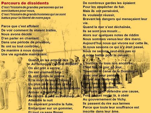 Hommage aux dissidents antillais