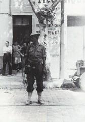 1944 - Provence- une colonne dfl entre a st jean du var venant de la Palasse -  col part- Paul Gaujac