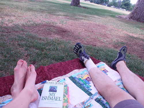 Reading Date in the Park