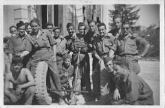 1945 - Nice- Train - Col. Monique Hecque