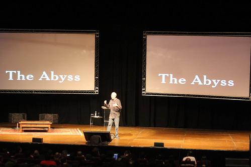 Douglas Crockford on stage