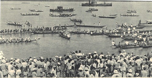 1940 - Sur le Wouri à Douala