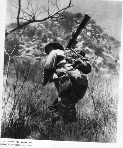 Authion 1945 printemps - passer de vallée en vallee et de cime en cime