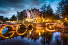 The Amsterdam Canals by Night photo by iwillbehomesoon