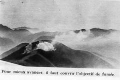 Authion 1945 printemps - couvrir objectif de fumée