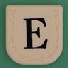 Line Word black letter E