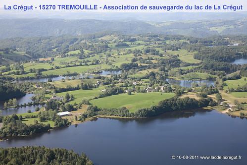 La Crégut et ses lacs (Cantal)