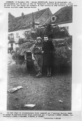 1944- Franche- Comté 11- 22 - Giromagny :Bouboule pilote du Char light  132  du RFM- Fonds Gérard Galland