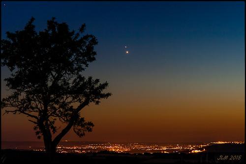 Jupiter-Vénus 30/06/2015