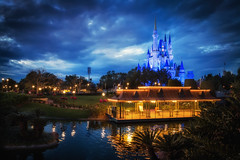 Sunset in the Magic Kingdom (explored) photo by Marc Perrella