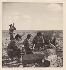 1942- Libye- Soldats du Bataillon d'Infanterie de Marine - Col. Blandine Bongrand Saint Hillie