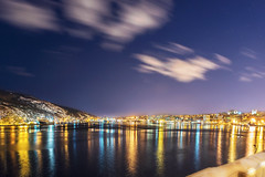 St. John's harbour at nightfall photo by tuanland