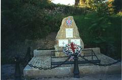 Flayosc Var - Inauguration de la stèle de la 1ere DFL le 11 novembre 2000 - Fonds Pierre Tropet