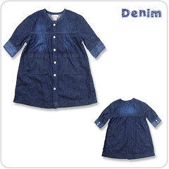 MIK13019807 Organic Denim Shirt photo by MikMik Baby Organics
