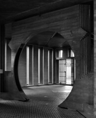carlo scarpa, architect: brion tomb, san vito d'altivole cemetery, 1969-1978 (largely completed by 1972). entrance to the chapel. photo by seier+seier
