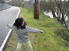 The Child Throws a Rock